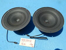 Seeburg LPC1 Speakers Utah Mid-Range 8 inch 16 ohm part # 487502 - one pair