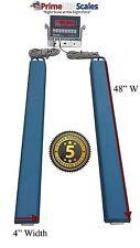 "48"" Bar Scale 10,000 lb Livestock Scale Preifert Chute Weigh Bars Cattle Scale"