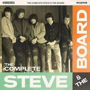 Steve & The Board-The Complete Steve & The Board (Mono) (UK IMPORT) CD NEW