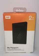 Western Digital My Passport Portable External Hard Drive,2TB,WDBYVG0020BBK-WESN