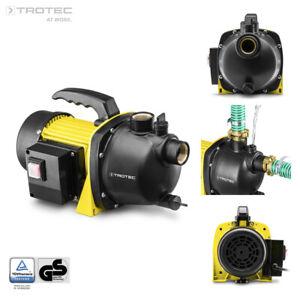 TROTEC Bomba de Riego TGP 1000 E | Para Jardín | Bomba de Agua | Presión | Pozo