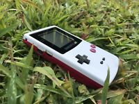 Nintendo GameBoy Color - Refurbished Colour Game Boy Handheld GBC White Red