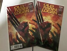 OLD MAN LOGAN (2015 Marvel vol.1) #4 NM- Wolverine X-Men Cap America Secret Wars