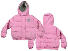 NHL Hockey Youth Girl's New York Rangers Winter Hooded Jacket, Pink