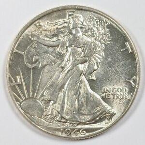 1946-P Walking Liberty Half Dollar 90% Silver 188312B