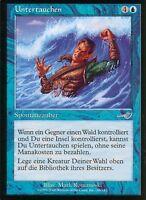 Untertauchen / Submerge   NM   Nemesis   GER   Magic MTG