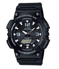 Casio Watch * AQS810W-1AV Tough Solar Illuminator Black Resin COD PayPal
