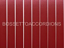 Accordion BELLOWS TAPE BURGUNDY RED PLAIN Roll 24mm x 8.89m (350 inches)