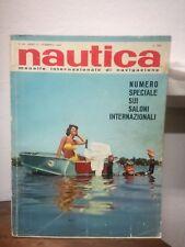 ** Nautica FEBBRAIO 1964 barca mare motoscafo gommone motore vela rivista **