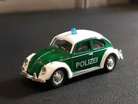 HO 1:87 Scale VW Volkswagen Bug Beetle Green and White WIKING ? SHUCO