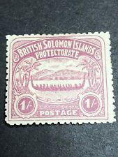 British Solomon Islands Scott 7/SG 7 Mint OG CV $90