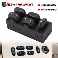 Power Window Master Control Switch For Ford F150 Crown Lincoln Front Driver Side