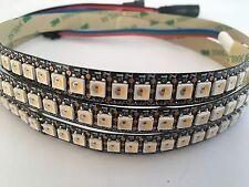 1m digital RGBW SK6812 LED Strip - 144LEDs/m Ambi Light IP20 schwarz