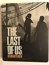 The Last Of Us PS4 Steelbook G2 (No Game Included) - Ultra Rare