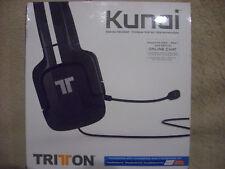 Kunai Mad Catz Stereo Headset, schwarz, Kopfhörer, neu
