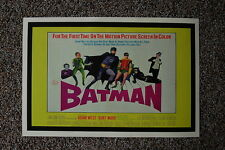 Batman 60s Lobby Card Movie Poster #2 Adam West Burt Ward 12 x 18inches