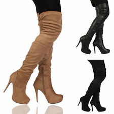 Stiletto Pull On Textile Shoes for Women