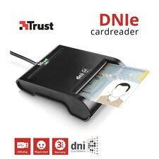 Trust DNIe USB Reader Lettore di Smart Card CRS CNS CIE Pubblica Amministrazione