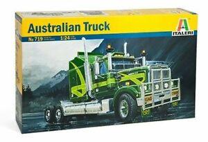 Italeri 1:24 Scale Australian Edition Western Star Truck Model Kit
