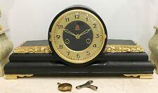RESTORED Original 15 Day Vintage Mantel Clock #1532