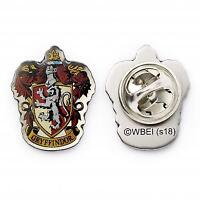 Official Genuine Warner Brothers Harry Potter Gryffindor Crest Trading Pin Badge
