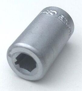 """Teng 1/4"""" female > 1/4"""" hex bit spring holder coupler adapter M140060-C inc VAT"""