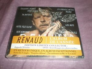 renaud edition limitée collector cd + dvd  neuf sous blister