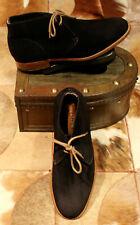 Church 'Sahara L' Black Suede  Chukka Boots - UK 8G - Superb