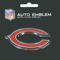 Chicago Bears Heavy Duty Metal 3-D Color Auto Emblem