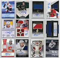 Auto Autograph Jersey RC Rookie Numbered Cards - Choose From List - NHL Hockey