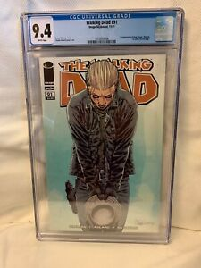 "Walking Dead 91 Image Comics 2011 1st Paul ""Jesus""  Monroe CGC Graded 9.4"
