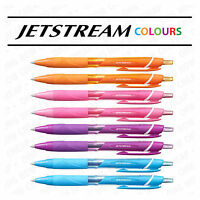 Uni-Ball Jetstream Colours SXN-150C Wallet [Orange,Pink,Violet,L Blue x 2 each]