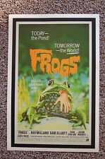 Frogs Lobby Card Movie Poster Ray Milland