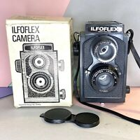 Ilfoflex TLR Toy Camera 127 Film! Working! Boxed Fixed Focus F8 Lens