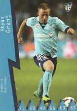 RHYAN GRANT SYDNEY FC A-LEAGUE 2014/2015 TAPNPLAY SOCCER CARD