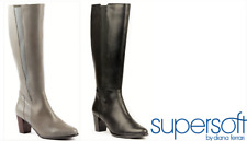 Boots long leather heel - Supersoft by Diana Ferrari - Carline