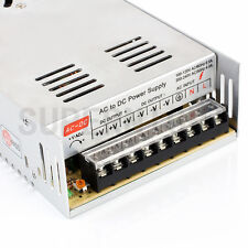 SUPERNIGHT 12V DC 30A 360W Regulated Switching Power Supply for LED Strip Light