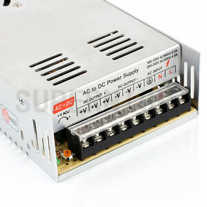 DC 12V 30A 360w Switching Transformer Power Supply for 5050/3528 LED Strip Light