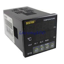 SESTOS 12-24V Digital Temperature Controller PID Temp Control Thermometer Meters