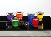 1.25 oz Jello Jelly Shot Souffle Portion Cups with Lids Option, Clear Plastic
