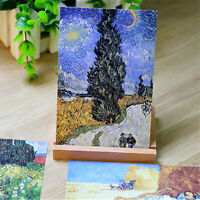 Lot of 30 Travel Postcard Classic Van Gogh Famous Painting Post Cards Posters