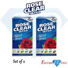 Rose Clear Ultra Liquid Concentrate 3-in-1 Action Kills Insects Mould 200ml x 2