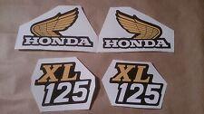 Autocollants / Stickers / Decals Honda XL125