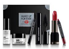 MAKE UP FOR EVER Beauty 6 Piece Kit/Set Travel HD Primer Powder Eye, Full Lip