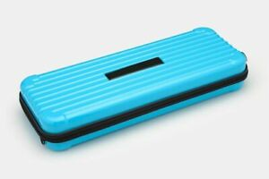 Hard Shell Mechanical Keyboard Carrying Case Flocked Polyester With Zip Closure