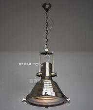 Restoration Maritime Pendant Chrome Finish Ceiling Lamp E27 Light Chandelier