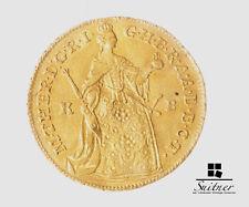 Taler Gold Haus Habsburg Ungarn 1756 K + B vz-ss  extrem selten