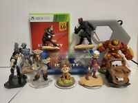 9 DISNEY INFINITY 3.0 FIGURES STAR WARS + Xbox 360 Portal, Crystals & Game ALL