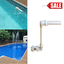 Swimming Pool Fountain Floating Above Ground or In Ground Swimming Pool Fountain