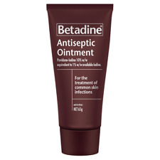 Betadine Antiseptic Ointment 65g First Aid Accessories